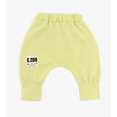 Bebelus Băieți De Bază Peteci Peteci Bumbac Pantaloni / Copil