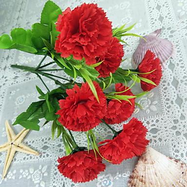 Flori artificiale ramură Clasic Oriental Carnație Față de masă flori
