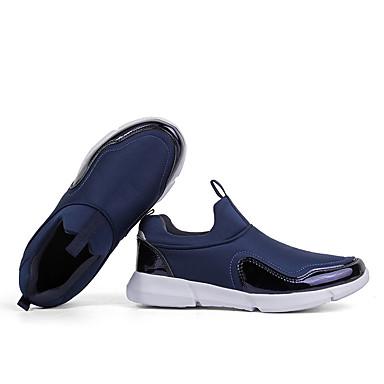 Confort Unisex Azul Running redondo Zapatos Malla de Tacón Oscuro deporte Zapatillas 06734795 Gris Primavera Dedo Negro Plano tw41tBxqr