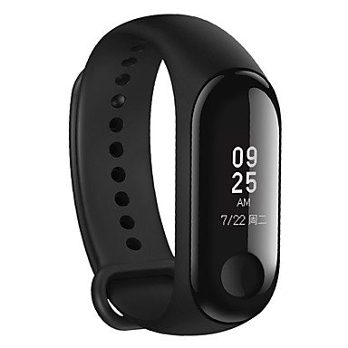 Xiaomi Mi Група 3 Miband 3 Фітнес Tracker Heart Rate Monitor 0.78 '' OLED-дысплей Сэнсарная панэль Bluetooth 4.2 для Android IOS #06720385