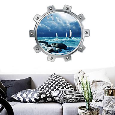 Autocolante de Perete Decorative - Autocolante perete plane Peisaj Sufragerie / Dormitor / Baie