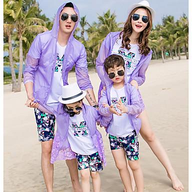 Familie Uite Floral Manșon Lung Bluză