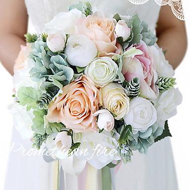 Flori artificiale 1 ramură Clasic Petrecere / Seară / Modern / Contemporan Trandafiri Cosul de flori