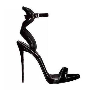 Chaussures Noir Eté Talon Aiguille Sandales Escarpin Polyuréthane Basique Confort Femme 06770059 Rndwq6zZxn