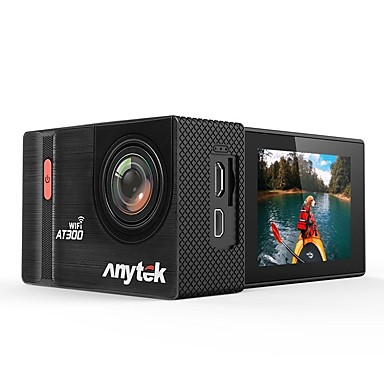 Anytek AT300 1080p Vedere nocturnă Car DVR 170 Grade Unghi larg 2.2 inch LTPS Dash Cam cu WIFI / Înregistrarea în Buclă / Rezistent la apă