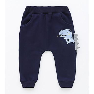 Bebelus Băieți De Bază Imprimeu Imprimeu Bumbac Pantaloni / Copil