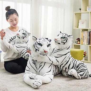 voordelige Knuffels & Pluche dieren-Tiger Knuffels & Pluche dieren Dieren Cool Acryl / Katoen Meisjes Speeltjes Geschenk 1 pcs