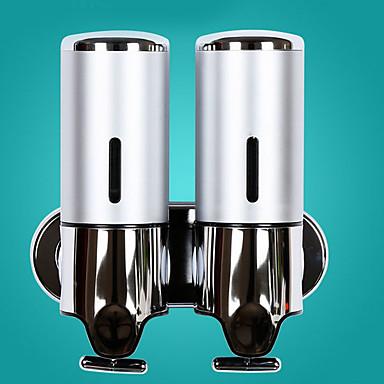 Dispenser Săpun Model nou Modern Teak / ABS + PC 1 buc - Baie Montaj Perete