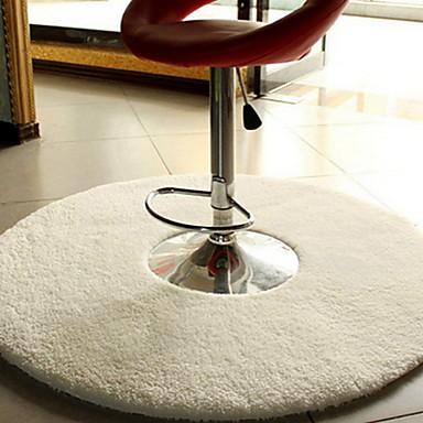 1 buc Modern Covoraș de Baie Bumbac Geometric Rotund Model nou / Non-Slip / Creative