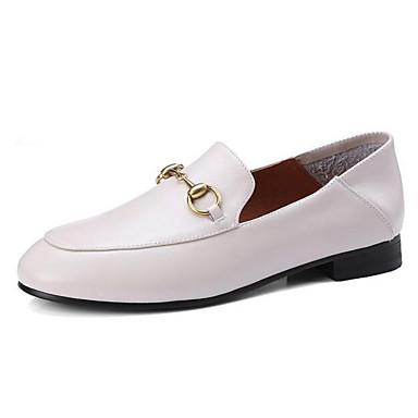 06838030 Femme à Cuir Blanc Talon Rose Nappa Talons Noir Confort Chaussures Printemps Plat Chaussures RWqZwCqg