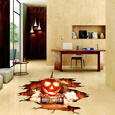 Floor Stickers   3D Wall Stickers Halloween Decorations / 3D Living Room /  Bedroom / Bathroom