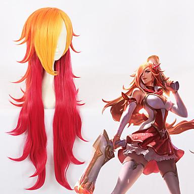 Cosplay Cosplay Cosplay Parykker Alle 32 inch Varmeresistent Fiber Rød Anime