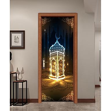 Dekorativne zidne naljepnice / Vrata za vrata - Zidne naljepnice / Odmor na Wall Naljepnice Religiozno / 3D Stambeni prostor / Spavaća soba