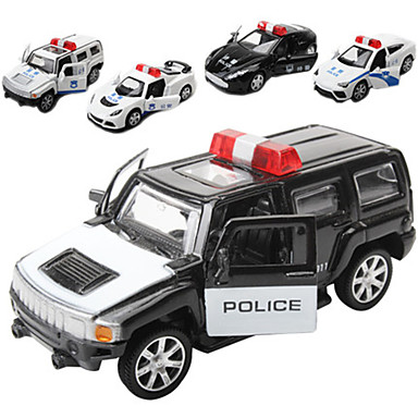 Igračke auti Policijski auto Vozila Automobil Pogled na grad Cool Fin Metal Tinejdžer Sve Dječaci Djevojčice Igračke za kućne ljubimce Poklon