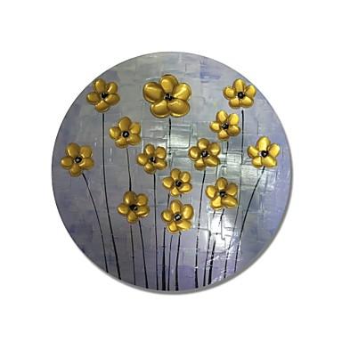 Hang oslikana uljanim bojama Ručno oslikana - Cvjetni / Botanički Comtemporary / Moderna Platno