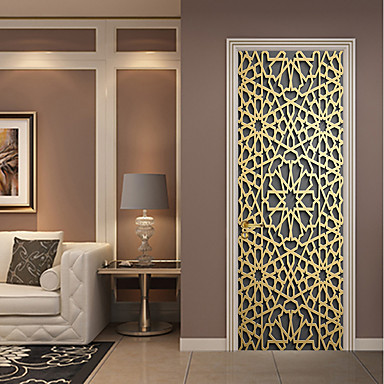 cheap Wall Art-Decorative Wall Stickers / Door Stickers - Plane Wall Stickers / Holiday Wall Stickers Religious / 3D Living Room / Bedroom