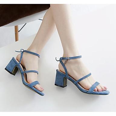 Talon Chaussures Confort Bottier Noir Eté Sandales Femme 06831125 Cuir Escarpin Rose Bleu Basique xHdTn0Aw