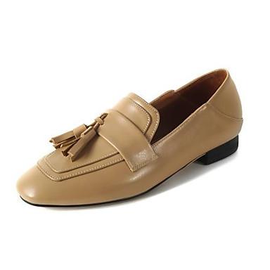 rond Chaussures Bout Block Confort Noir Amande Cuir à Heel Femme 06840201 Basique Talons Marche Escarpin Eté Chaussures Nappa x6wPqOg