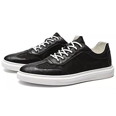 Muškarci PU Ljeto Udobne cipele Sneakers Obala / Crn