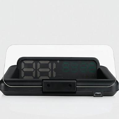 tanie Samochód Elektronika-INFOS T900 4.3 in Ekran LCD analogowy 420TVL 1208 x 1208 Czujnik CMOS Przewodowa 60 ° 10 pcs 60/ 15 ° 90*203.6 in Wyświetlacz Head Up Podłącz i graj / Night Vision na Samochód Zmierz prędkość jazdy