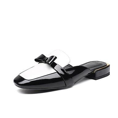 af1916ed48d45 Cuir Printemps Femme Rose Sabot Chaussures Noir 06832133 Eté Nappa Mules  Confort Talon Plat amp  ...