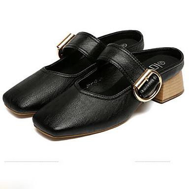fermé Bottier Escarpin Polyuréthane Talons Basique Femme 06790952 Printemps à Chaussures Chaussures Noir Beige Talon Bout zxt5PwqZ