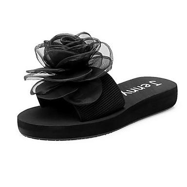 Primavera Otoño y Confort Tela Negro Mujer Zapatos Azul redondo Anaranjado Dedo Oscuro Plano Paseo 06830728 Pump Bailarinas Elástica Tacón Negro Básico UqtWIqg