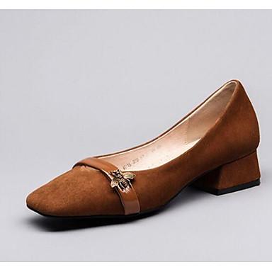 Chaussures Cuir Bottier Talons à Femme 06782269 Talon Printemps Noir Confort Chaussures Marron 7gx8w5qI