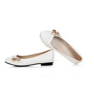 Žene Cipele PU Proljeće Udobne cipele Ravne cipele Ravna potpetica Obala / Crn / Crvena