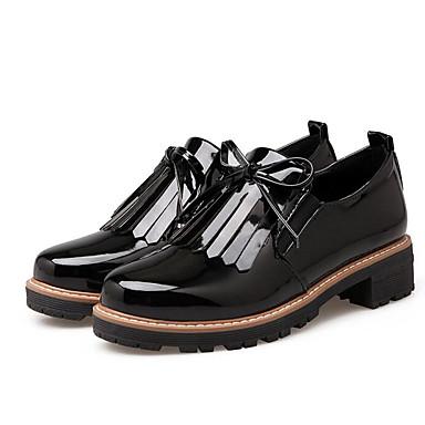 Basique Confort Polyuréthane Escarpin Noir Printemps Bottier Femme Blanc Talon et Chaussures Rouge D6148 06800081 Mocassins Chaussons Automne wpqxY1