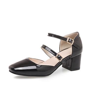06778183 Femme Talons de Chaussures Bride Amande Beige Talon Cheville Evénement Chaussures amp; Printemps Soirée été à Polyuréthane Rouge carré Bout Bottier RqRwgzr