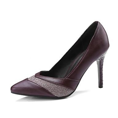 Zapatos Mujer Tacón Rojo Primavera 06827986 Negro Stiletto Microfibra Tacones verano Confort Fr6rWnx