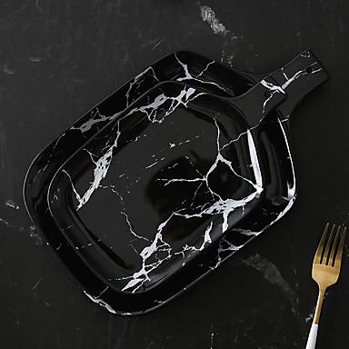 1 kom. Porculan / Drvo New Design / Heatproof / Kreativan Tanjuri za večeru / Poslužavnik / Posude za serviranje, posuđe