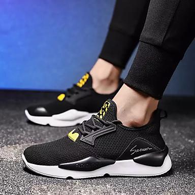 Homme Maille Eté Confort Chaussures d'Athlétisme Marche Couleur Couleur Couleur Pleine Noir / Gris / Rouge | Une Bonne Conservation De La Chaleur  a73ca4