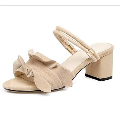 Sandales Daim Noir 06797306 Eté Amande Bottier Rose Chaussures Confort Femme Talon 0S5xIq0w