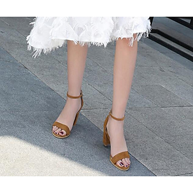 Rouge Sandales Basique Escarpin Daim Eté 06833488 Marron Femme Talon Bottier Amande Chaussures qxRgf1wz