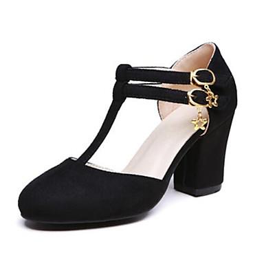Cuadrado Tacones Rojo Ante Negro Gris Mujer Zapatos Primavera Confort 06797503 Tacón IYxPwqC