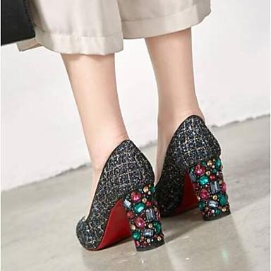 Talon Femme Chaussures amp; Noir Soirée 06775106 Evénement Confort Chaussures Bottier à synthétique Printemps Talons Matière 81dqrw8