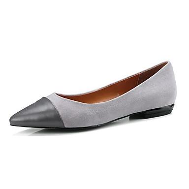 Gris Bas 06833249 Chaussures Confort Chaussures à Cuir Talon Femme Hiver Rose Nappa Talons fZ64cqv