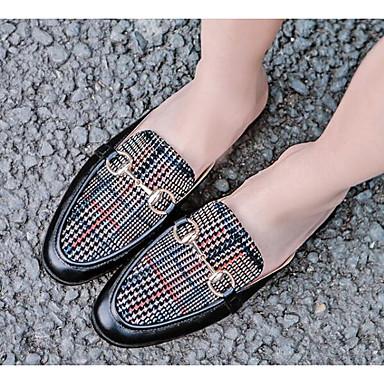Mules Noir Nappa Cuir Bourgogne Printemps Sabot amp; 06797020 Chaussures Confort Talon Femme Plat wfRWnqUx6v