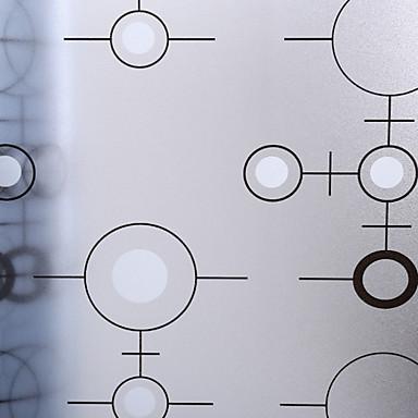 Prozor Film i Naljepnice Ukras Mat / Suvremena 3D ispis PVC Naljepnica za prozor / Mat