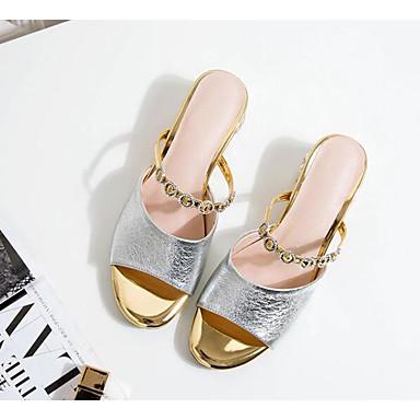 Cuir Talon Argent Confort Eté 06789850 Rouge Basique Femme Sandales Escarpin Chaussures Nappa Bottier 4vq8pW1Z