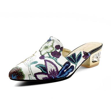 Bleu Chaussures amp; Noir Eté Femme Escarpin Confort Nappa Talon Jaune Sabot Cuir Bottier Basique 06840605 Mules 6d88wqxp