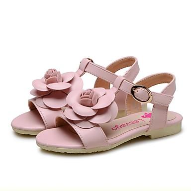 4d0d2d3c8 Chica Zapatos PU Verano Confort   Zapatos para niña florista Sandalias Flor    Cinta Adhesiva para