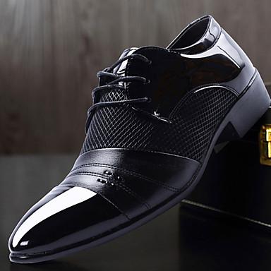 Homme Chaussures de confort confort confort Cuir Nappa Automne Oxfords Noir / Marron / De plein air 59a3a2