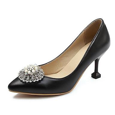 Confort Zapatos Negro Mujer Sintéticos Tacón Tacones Rosa Verano Stiletto Plata 06832702 xSxBqn