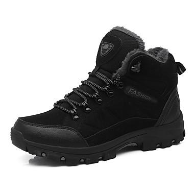 Bout Talon Automne Fuchsia hiver Daim rond Plat Randonnée Chaussures 06862131 Noir d'Athlétisme Chaussures Confort Femme vCqAwA