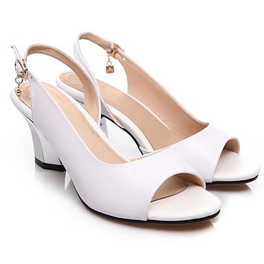 Femme Cuir 06850195 Talon Noir Nappa Aiguille Rouge Blanc Sandales Chaussures Printemps Confort w1xUPfcawq