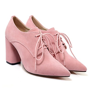 Femme Daim été Noir Bottier Rose 06863661 Talon Printemps Bottes Gris Chaussures Confort WRW6rnx1a