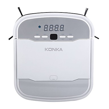 cheap Smart Robots-KONKA KC - V1 Robotic Vacuum Cleaner - WHITE